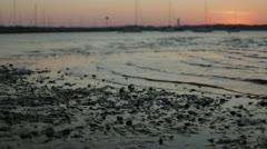 Lake Michigan Shoreline Timelapse 1 Stock Footage