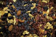 Stock Photo of dried fruit background