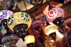 Turkish lights Stock Photos