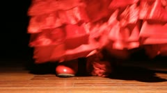 Flamenco footage spain Stock Footage