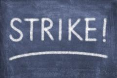 Strike Stock Illustration
