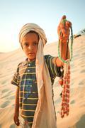 Tunisian seller - stock photo