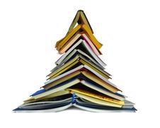 tree of books - stock photo