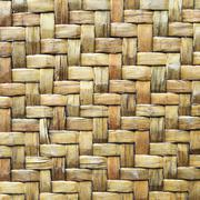 bamboo wood texture ,thai handwork - stock photo