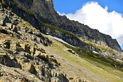 Montana Glacier National Park Stock Photos
