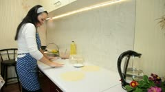 Home Baking - stock footage