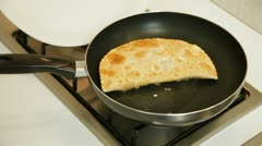 Chebureki Recipe Stock Footage