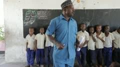 Primary School. Zanzibar. Tanzania. Africa Stock Footage