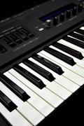 Piano keyboard Stock Photos