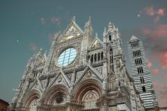 Duomo at sunset Stock Photos