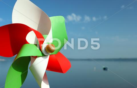 Stock photo of italian pinwheel