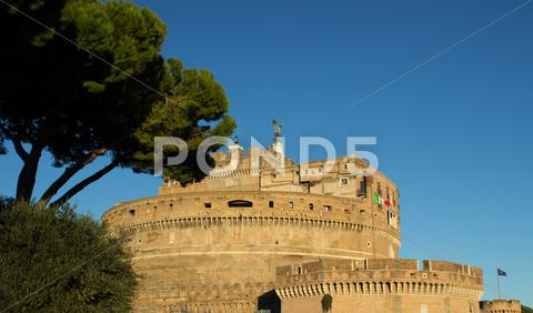 Stock photo of castel s angelo 2
