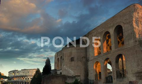 Stock photo of fori imperiali