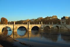 Stock Photo of ponte sant' angelo