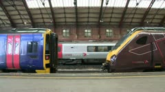 Bristol Temple Meads Station Stock Footage