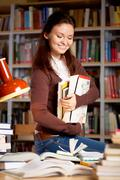 In library Stock Photos