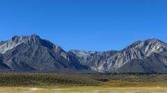 Devils Postpile 37 Mammoth Mts area Sierra Nevada Mts Stock Footage