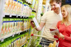 Stock Photo of Choosing goods