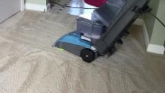 Shampooing Carpet Stock Footage