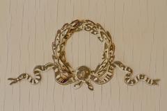 antique motif - stock photo