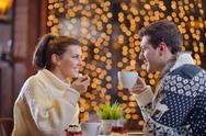 Stock Photo of romantic evening date