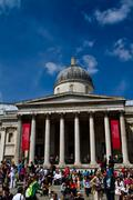 National art gallery London Stock Photos