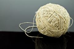 ball of twine - stock photo