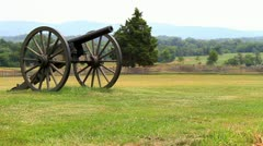 Civil War Canon Stock Footage