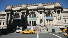 Metropolitan Museum II Stock Footage