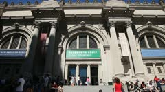 Metropolitan Museum Stock Footage