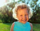 Stock Photo of beautiful curly girl