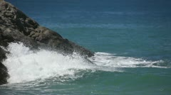 Waves od Andaman sea. Stock Footage