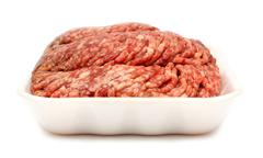Raw minced meat Stock Photos