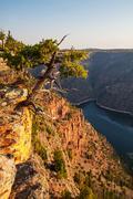 flaming gorge - stock photo