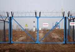 industry danger - stock photo