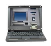 Small laptop Stock Photos