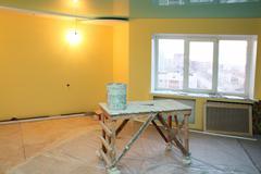 home interior renovation - stock photo
