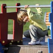 child playground - stock photo