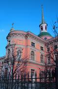 engineering castle (mihaylovskiy) in petersburg, russia - stock photo