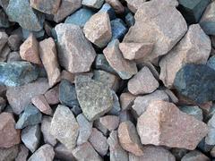 Splinter of granite Stock Photos
