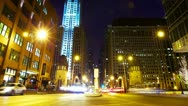 Chicago traffic Stock Footage