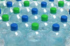 Water in bottles Stock Photos