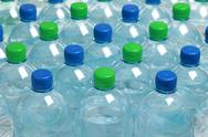 Stock Photo of water in bottles
