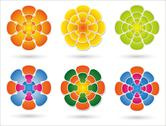 Stock Illustration of colorful mandala