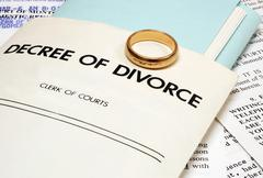 Divorce - stock illustration