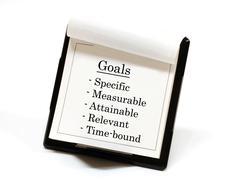 Goals - stock illustration