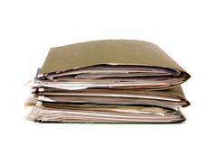Files - stock illustration
