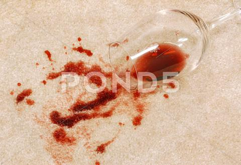 Stock Illustration of Stained carpet
