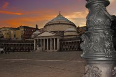 Piazza plebiscito Stock Photos