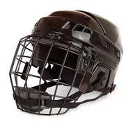 Hockey helmet Stock Photos